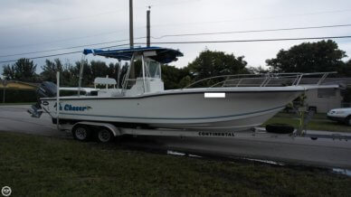 Dusky Marine 256 Fisherman's Cuddy Center Console, 25', for sale - $24,900