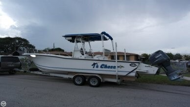 Dusky Marine 256 Fisherman's Cuddy Center Console, 25', for sale - $22,500