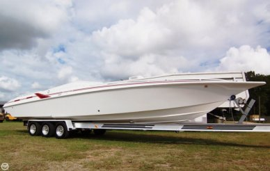 Fountain 35 Lightning - 2014 engines, 35', for sale - $65,000