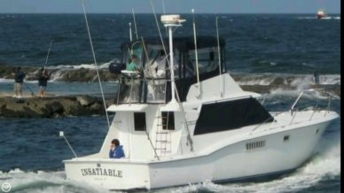 Hatteras 38 Convertible, 38', for sale - $48,500