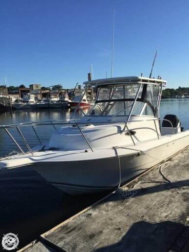 Sea Fox 257 Walk Around, 25', for sale - $22,200