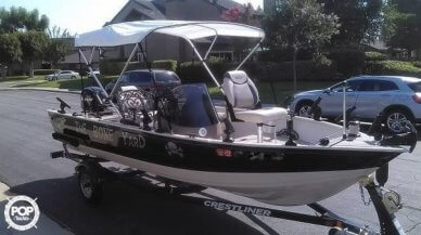 Crestliner 16 Kodiak SC, 16', for sale - $11,000
