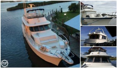 Hatteras 53 Motor Yacht Extended Deck, 53', for sale - $169,900