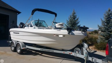 Triumph 191 FS, 19', for sale - $30,000
