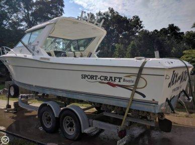 Sportcraft 252 Fishmaster, 27', for sale - $13,000