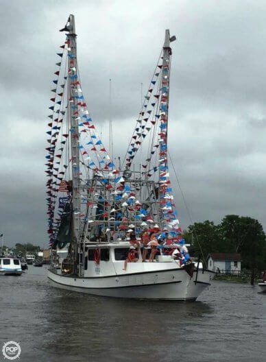 Lafitte 57 x 18 Shrimper Skimmer, 57', for sale - $400,000