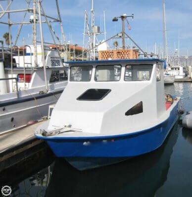 Homebuilt Commercial 31 ft Fishing Boat / Dive Boat, 31', for sale - $25,000