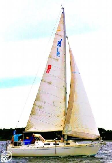 J Boats 28, 28', for sale - $23,500