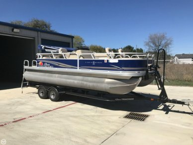 Sun Tracker Fishin Barge 22 DLX, 22', for sale - $22,900