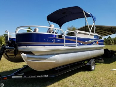 Sun Tracker Fishing Barge 20 DLX, 21', for sale - $20,500