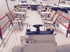 Refurbished Top Deck With 6 Removable Tables & Chairs