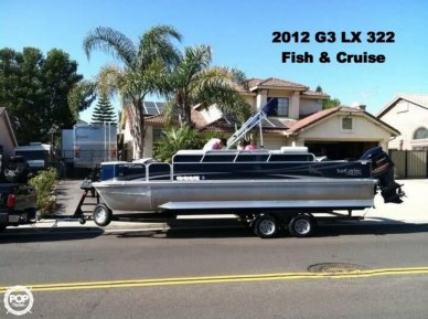 G3 Suncatcher LX 322 Fish & Cruise, 23', for sale - $42,000