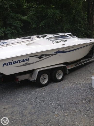 Fountain 27 Fever, 27', for sale - $42,500