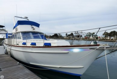 Gulfstar Trawler Yacht Mark II, 43', for sale - $49,000