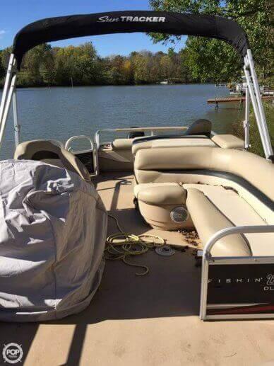 2013 Sun Tracker Fishin' Barge 22 DLX - #3