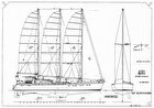 2018 Custom 96' 3 Masted Schooner Project - #3