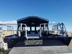Hand Rails, Non-skid Deck, Swim Platform, Vertical Rod Holders