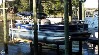 Sun Tracker Fishin' Barge 20 DLX, 21', for sale - $21,500