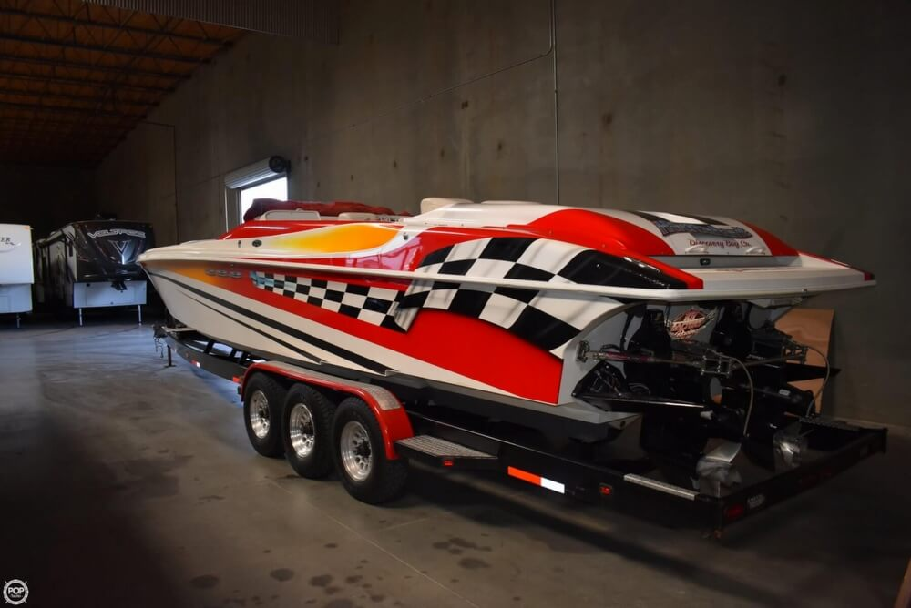 Rather valuable Hustler boat trailer