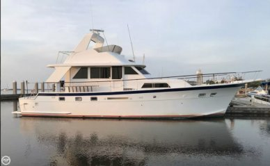Hatteras 53 Yacht Fisherman, 52', for sale - $221,200