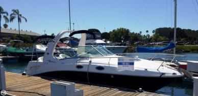 Sea Ray 260 Sundancer, 28', for sale - $58,900