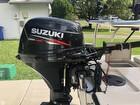 Suzuki 20 HP Four-stroke W/ Extension Handle