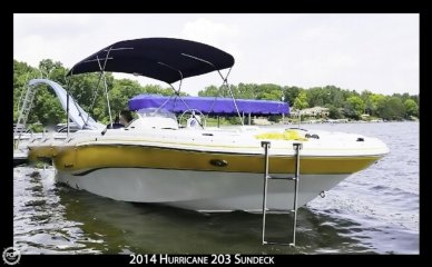 Hurricane 203 Sundeck Sport, 20', for sale - $32,900