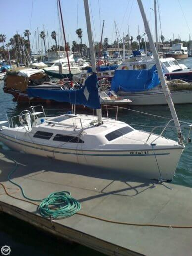 Catalina 250, 25', for sale - $17,495