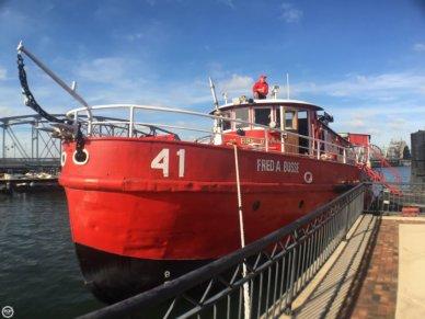 Custom 87 Retired Fireboat, 87', for sale