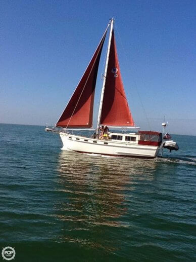 Island Trader MotorSailor 40, 39', for sale - $80,000