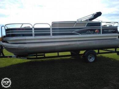 Sun Tracker Fishin Barge 20 DLX Signature, 21', for sale - $24,300