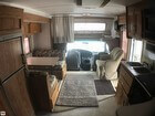 Lounge/cab/upper Bunk W/privacy Curtain