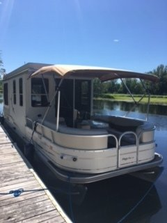 Sun Tracker Regency Party Cruiser 32, 33', for sale - $39,000