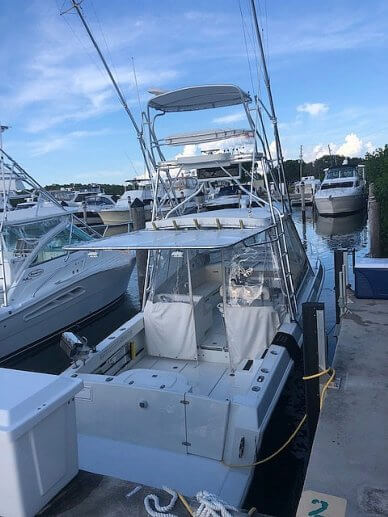 Contender 35 Side Console, 35, for sale - $59,900