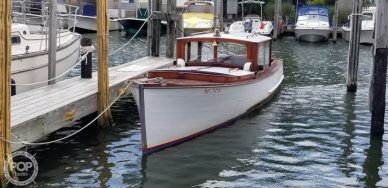 Consolidated Shipbuilding Launch, 27', for sale - $39,000