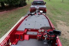 Large Bow Casting Platform With Storage Compartments For Rods, Pfds, Tackle & More