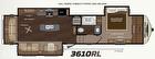 4 Seasons - Montana 3610RL Floor Plan