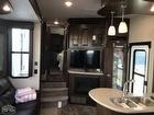 Control Center, Double Kitchen Sink, Fireplace, Flooring, Interior Lighting, Kitchen Island, TV