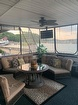 Aft Deck Inclosed Lounge Area