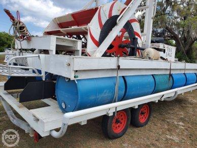Homebuilt Harley Davidson Powered Paddle Boat, 20', for sale - $22,250