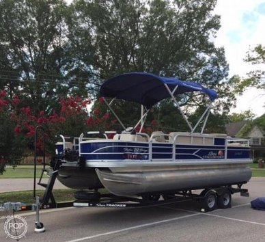 Sun Tracker Fishing Barge 22DLX, 22, for sale