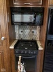 3-Burner stove and Microwave