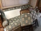 Sofa And Matching Print Chairs