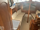 Roomy Salon For A Boat This Size Port Settee Pulls Out For A Berth