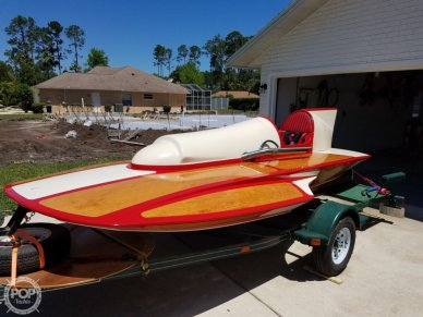 Classic Handcrafted Clarkcraft Design Hydroplane, 17, for sale - $39,900