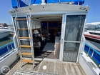Ladder To The Flybridge And View To The Cabin