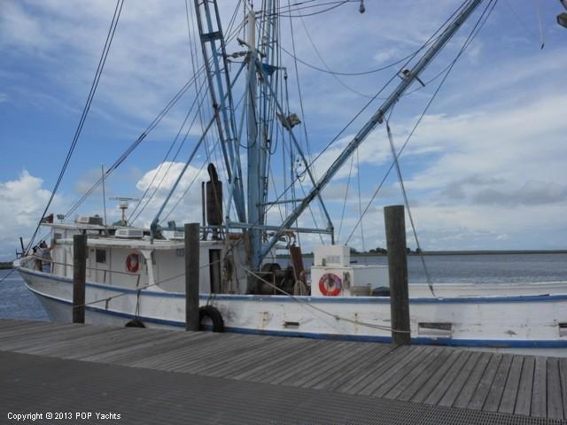 Florida Apalachicola Lady Louise a wooden shrimp boat
