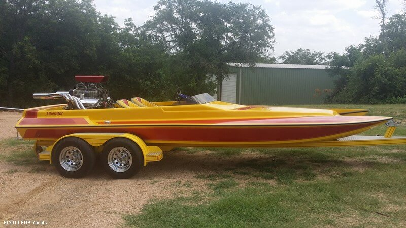 Liberator 21 Drag Boat, 21', for sale - $21,500