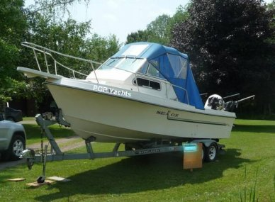 Sea Ox 230C Walkaround, 23', for sale - $14,000