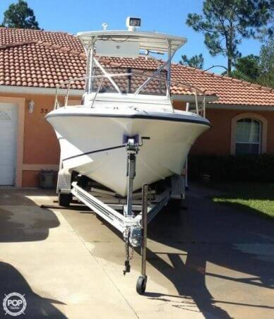 Angler 220 Walkaround, 22', for sale - $18,500